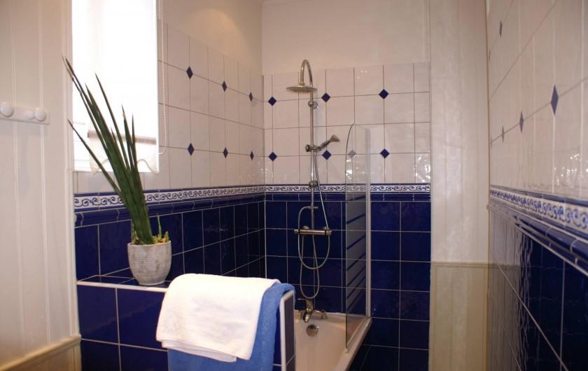 Location de vacances - Appartement à Le Touquet-Paris-Plage - Baignoire / Douche / Wc