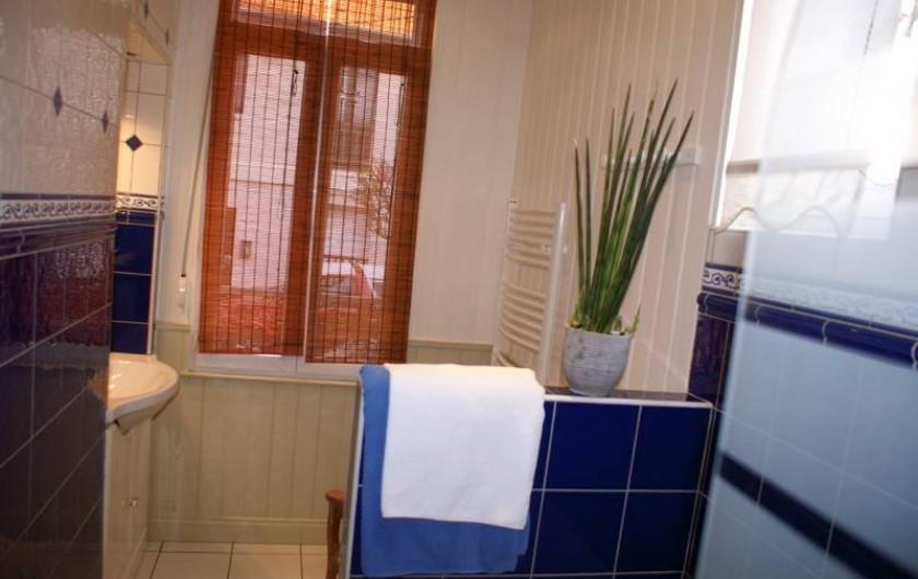 Location de vacances - Appartement à Le Touquet-Paris-Plage - Salle de bain lumineuse