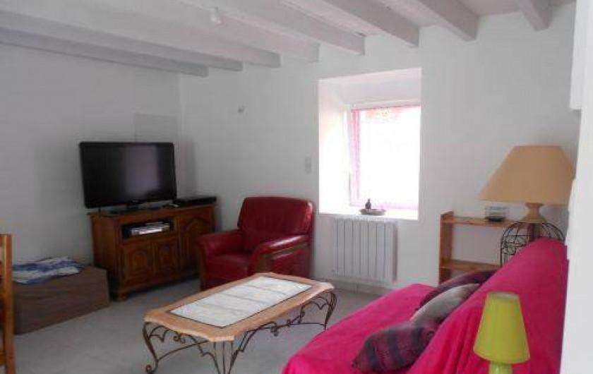 Location de vacances - Gîte à Mauron - autre vue du salon