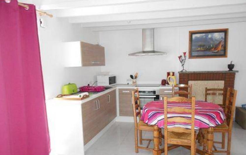 Location de vacances - Gîte à Mauron - le coin cuisine