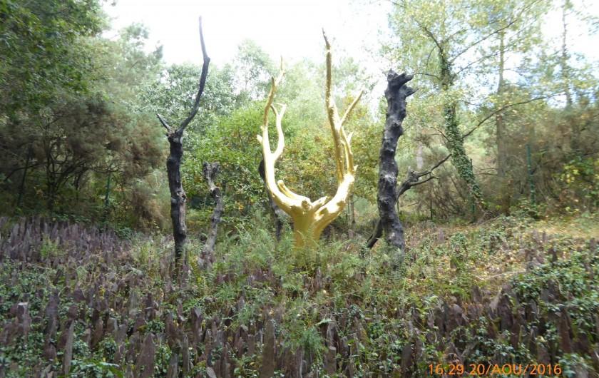 Location de vacances - Gîte à Mauron - l'arbre d'or du val sans retour à Tréhorenteuc