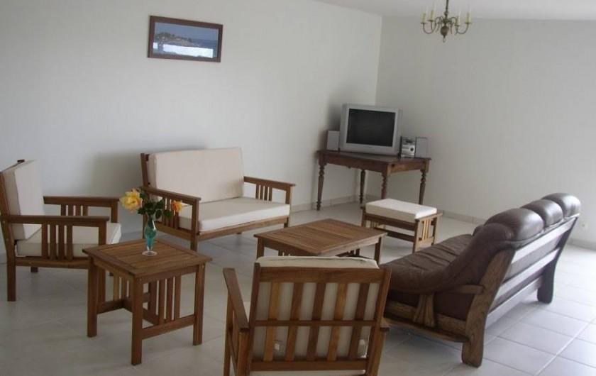 Location de vacances - Gîte à Locquirec - Ty Tania - Salon
