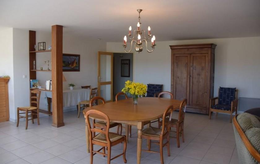 Location de vacances - Gîte à Locquirec - Ty Tania - Salle à manger