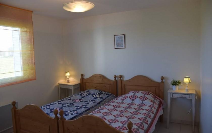 Location de vacances - Gîte à Locquirec - Ty Tania - Cambre lits simples