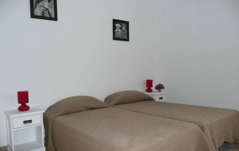 Location de vacances - Gîte à Locquirec - Ty Papy - Chambre lits simples