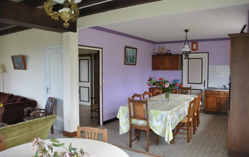 Location de vacances - Gîte à Locquirec - Avel Mor - Salle à manger