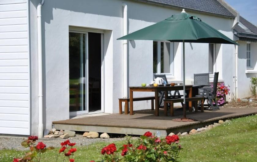 Location de vacances - Gîte à Locquirec - Avel Mor - Terrasse