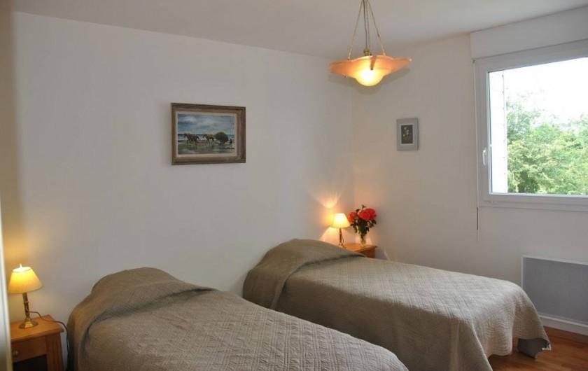 Location de vacances - Gîte à Locquirec - Ty Agathe - Chambre lits simples
