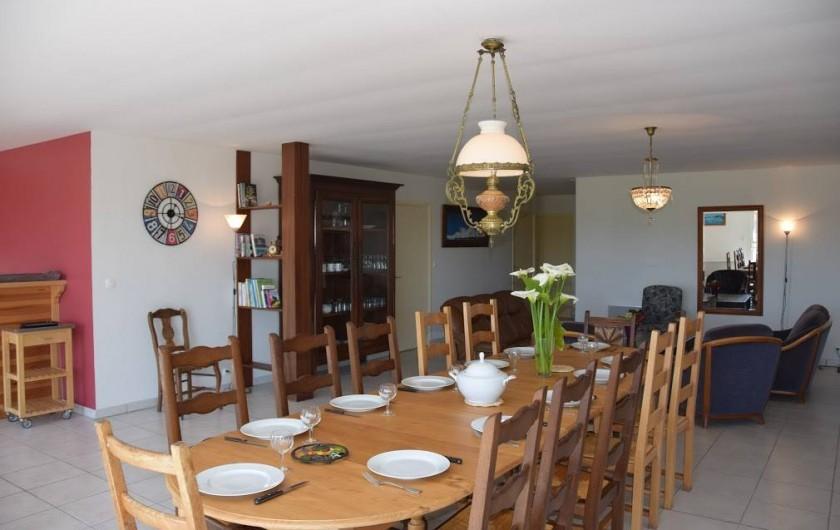 Location de vacances - Gîte à Locquirec - Ty Agathe - Salle à manger