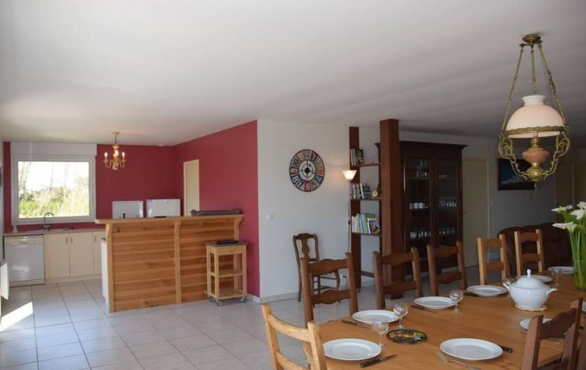 Location de vacances - Gîte à Locquirec - Ty Agathe - Bar