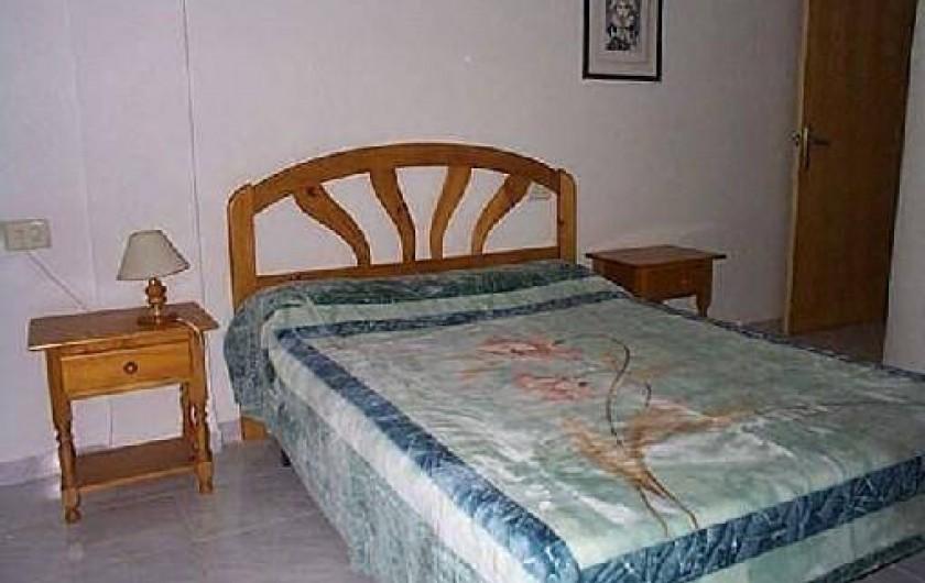 Location de vacances - Appartement à Puerto de Mazarrón - CHAMBRE