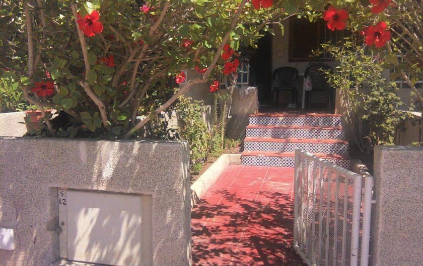 Location de vacances - Appartement à Puerto de Mazarrón - REZ DE JARDIN