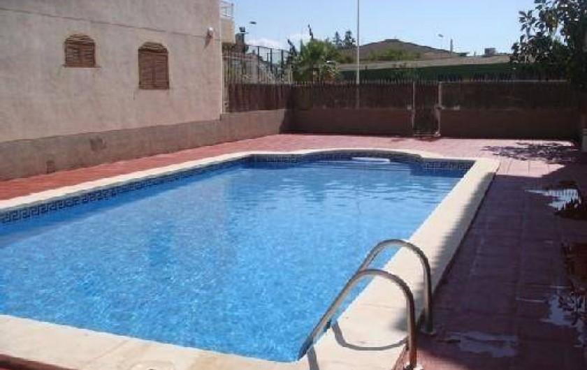 Location de vacances - Appartement à Puerto de Mazarrón - PISCINE