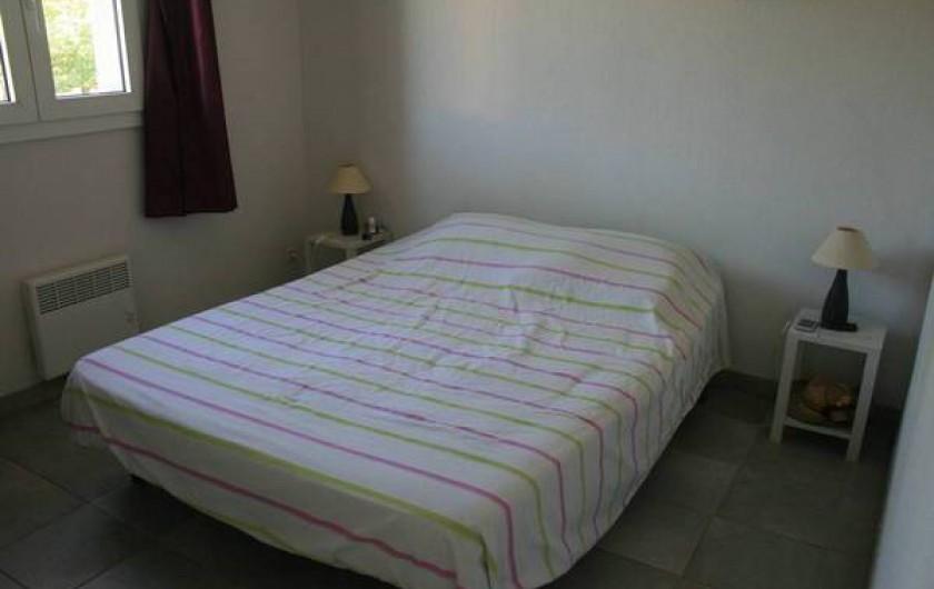 Location de vacances - Appartement à Saint-Aygulf - Chambre 1