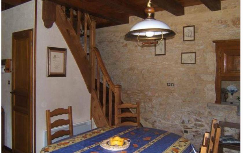 Location de vacances - Gîte à Saint-Cyprien - séjour dans la pièce de vie