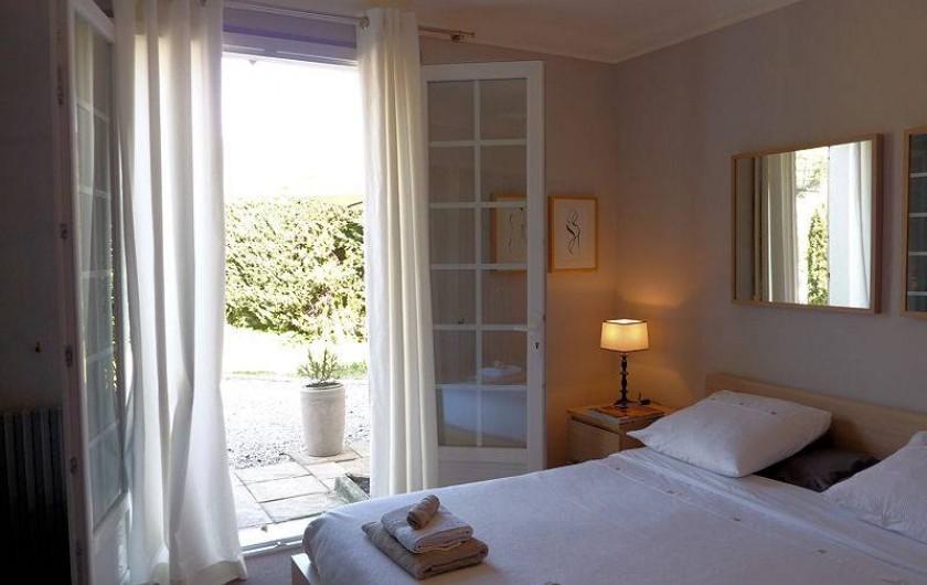 Location de vacances - Chambre d'hôtes à Mercuer - Chambre Hortensias