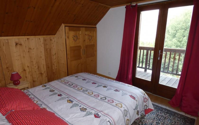Location de vacances - Appartement à Puy-Saint-Vincent - 2nde chambre lit 160/2M