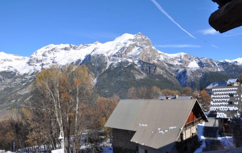 Location de vacances - Appartement à Puy-Saint-Vincent - Vue du balcon