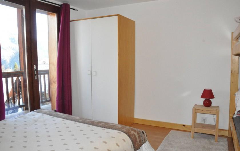 Location de vacances - Appartement à Puy-Saint-Vincent - la 3iem chambre: 1 lit en 140/190 1 lit superposé 80/190