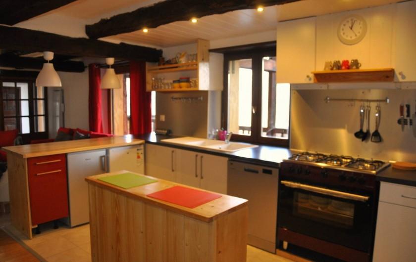 Location de vacances - Appartement à Puy-Saint-Vincent - la cuisine bien équipée