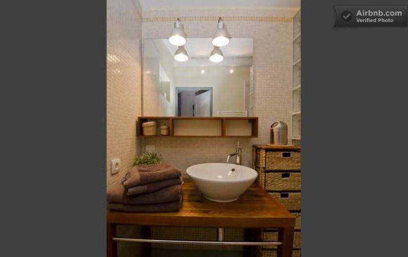 Location de vacances - Appartement à Mimet - Salla de bain
