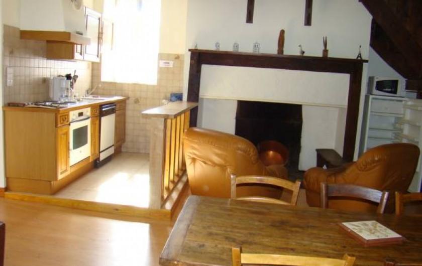 Location de vacances - Maison - Villa à Cuzorn - coin cuisine