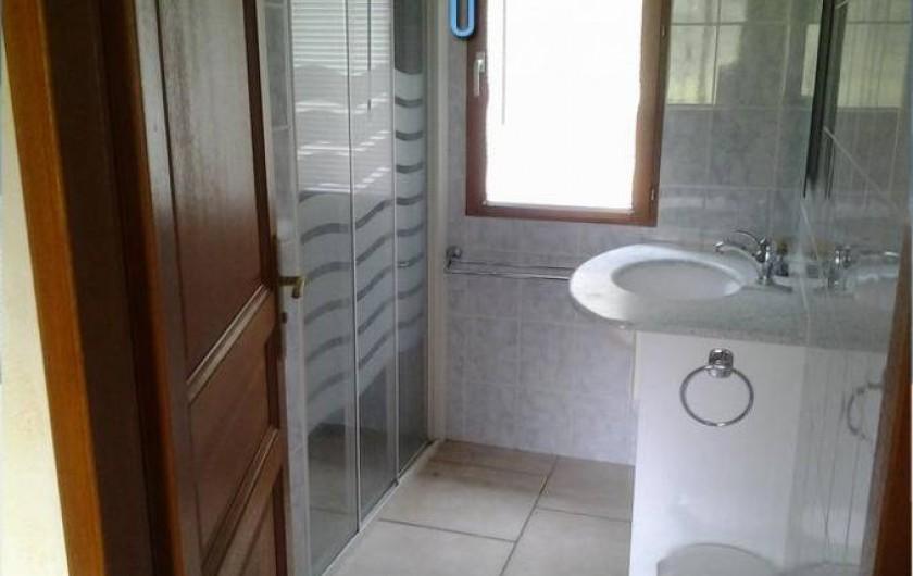 Location de vacances - Maison - Villa à Sexey-aux-Forges - La salle d'eau RDC