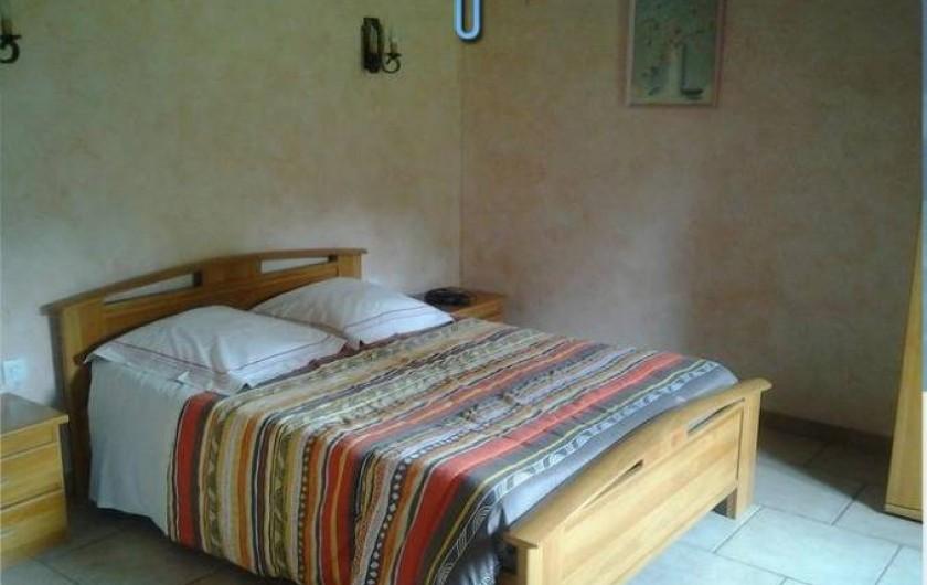 Location de vacances - Maison - Villa à Sexey-aux-Forges - Chambre 1 au rez de chaussée