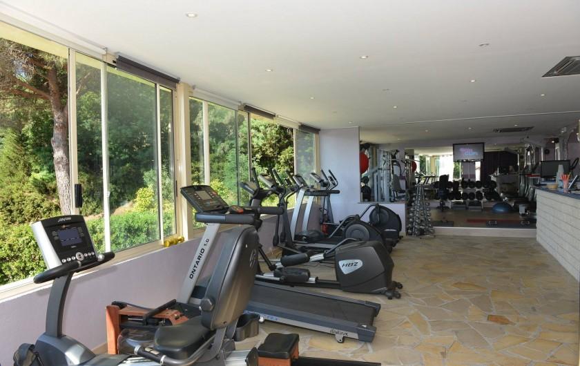 Location de vacances - Chambre d'hôtes à Cavalaire-sur-Mer - Salle de fitness