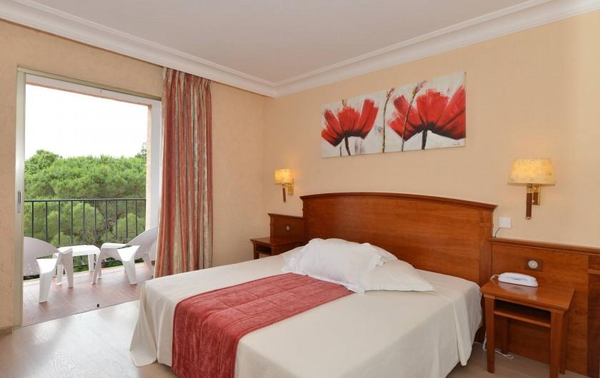 Location de vacances - Chambre d'hôtes à Cavalaire-sur-Mer - Standard Vue Mer