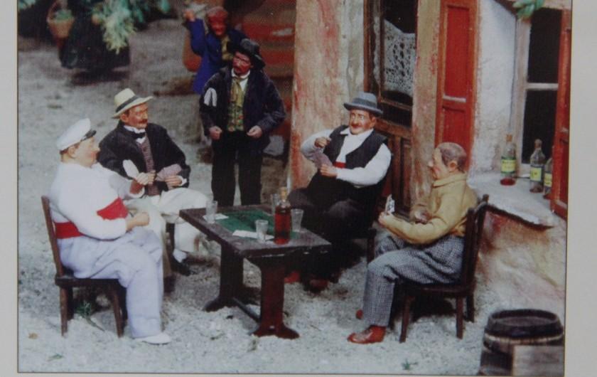 Location de vacances - Gîte à Theux - Chambre Le XVIIIème siècle