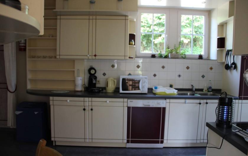 Location de vacances - Gîte à Theux - Une cuisine qui permet de rester dans le coup !