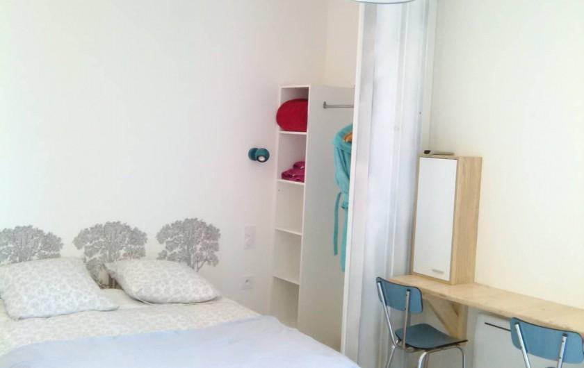 Location de vacances - Appartement à Ploufragan - CHAMBRE DU STUDIO