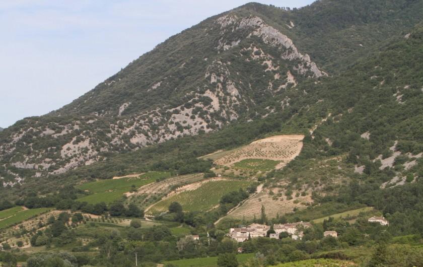 Location de vacances - Mas à Veaux - Hameau de Veaux dans son environnement