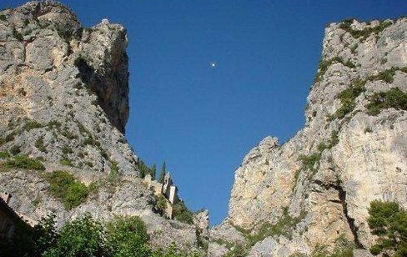 Location de vacances - Villa à Montferrat - moustiers