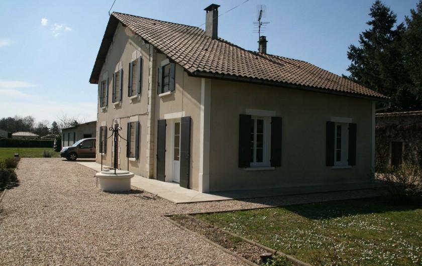 Location de vacances - Villa à Coutras
