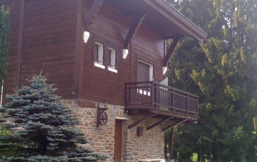 Location de vacances - Chalet à Megève - C'est l'été !
