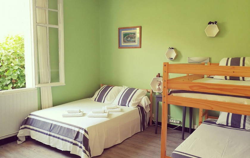 Location de vacances - Chambre d'hôtes à Mimizan - Chambre Féline - 4 personnes