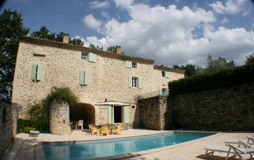 Location de vacances - Mas à Chantemerle-lès-Grignan - piscine