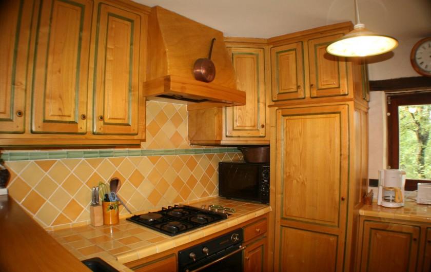 Location de vacances - Mas à Chantemerle-lès-Grignan - cuisine 1
