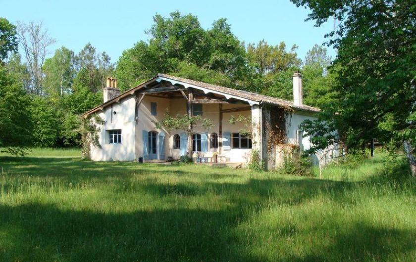 Location de vacances - Gîte à Sillas - Façade Est 2