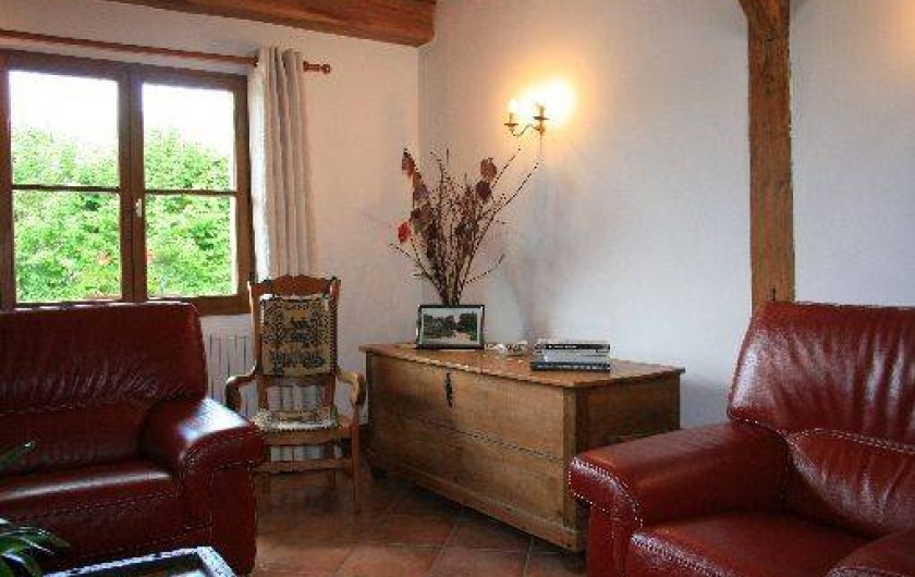 Location de vacances - Gîte à Frencq - Grand salon .
