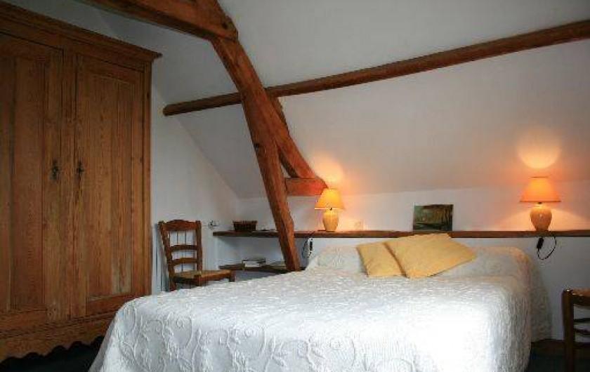 Location de vacances - Gîte à Frencq - Chambre soleil  .