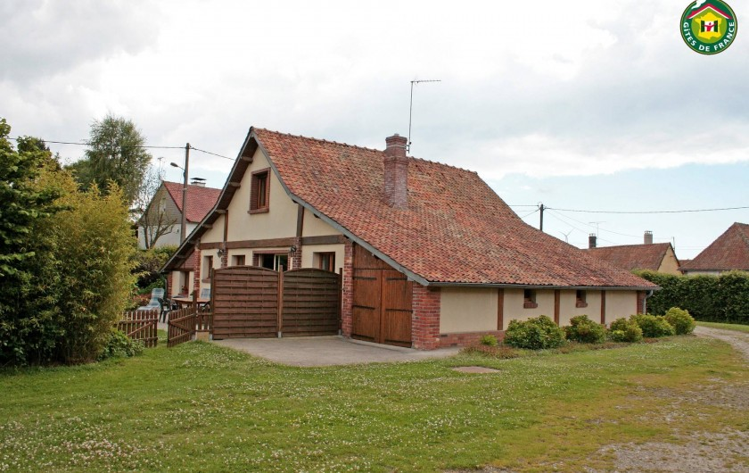 Location de vacances - Gîte à Frencq - Coté prairie  .