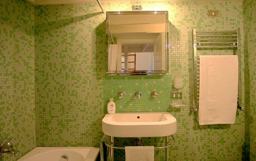 Location de vacances - Studio à Rione III Colonna - salle de bain