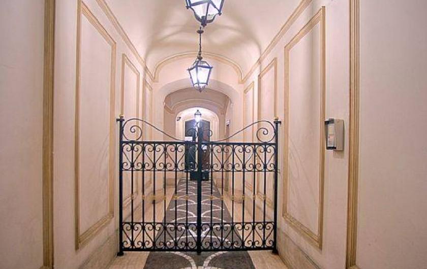Location de vacances - Studio à Rione III Colonna - le hall d'entrée