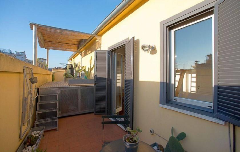 Location de vacances - Studio à Rione III Colonna - la terrasse