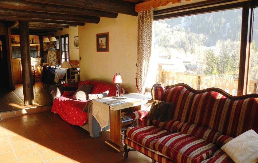 Location de vacances - Chalet à Champagny-en-Vanoise - Salon