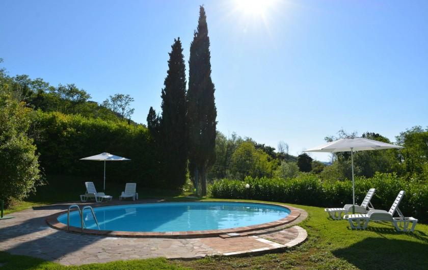 Location de vacances - Appartement à Radicondoli - POOL