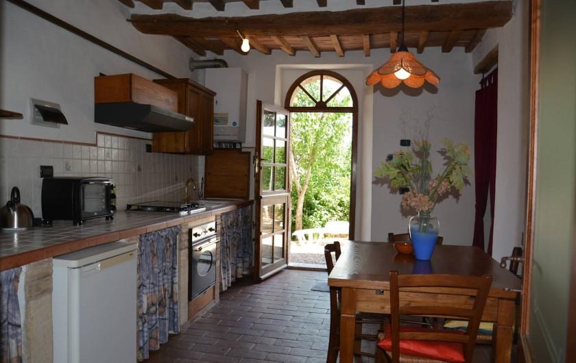 Location de vacances - Appartement à Radicondoli - KITCHEN